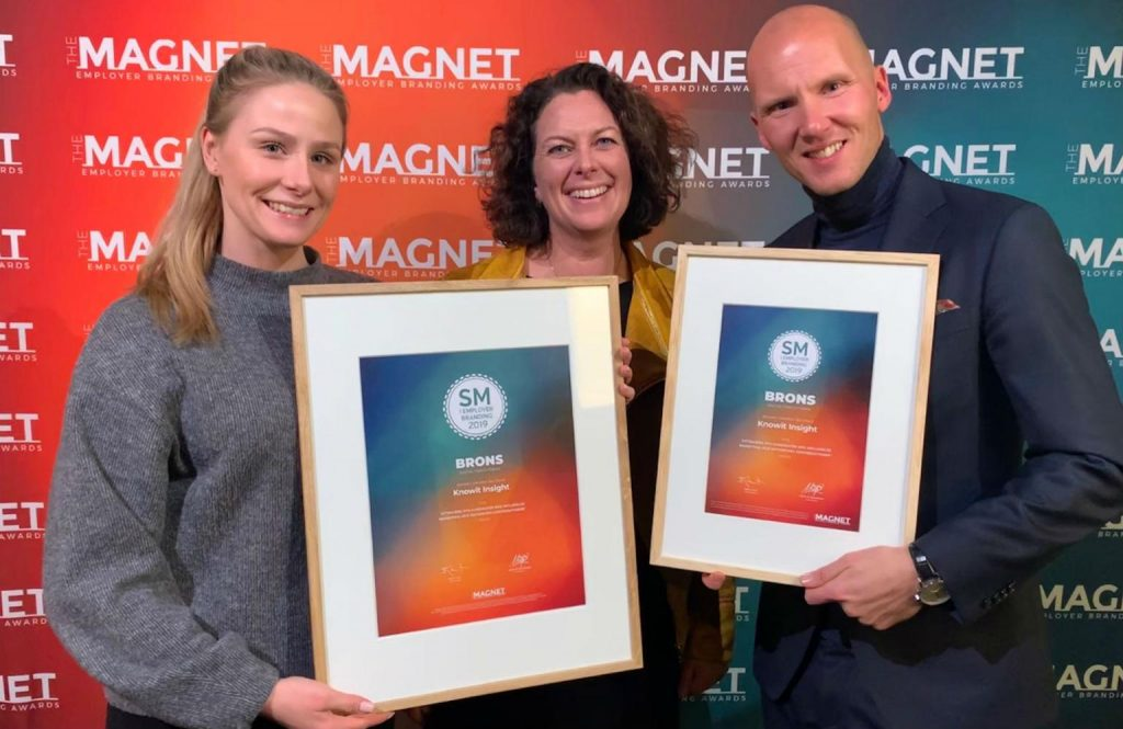 Zmash och Knowit vinner brons i Magnet Awards 2019